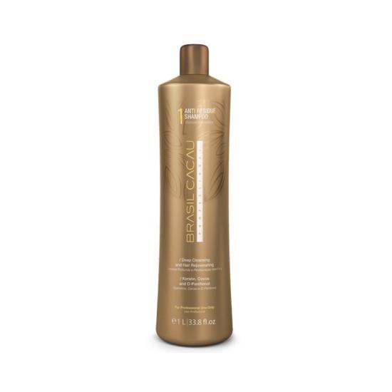 Brasil Cacau Anti Residue Shampoo: Очищающий шампунь 1L
