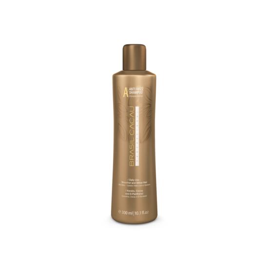 Brasil Cacau Anti Frizz Shampoo: Разглаживающий шампунь 300 ml