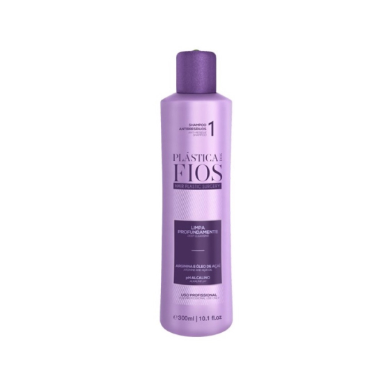 Шампунь глубокой очистки: Anti-Residue Shampoo 300 ml