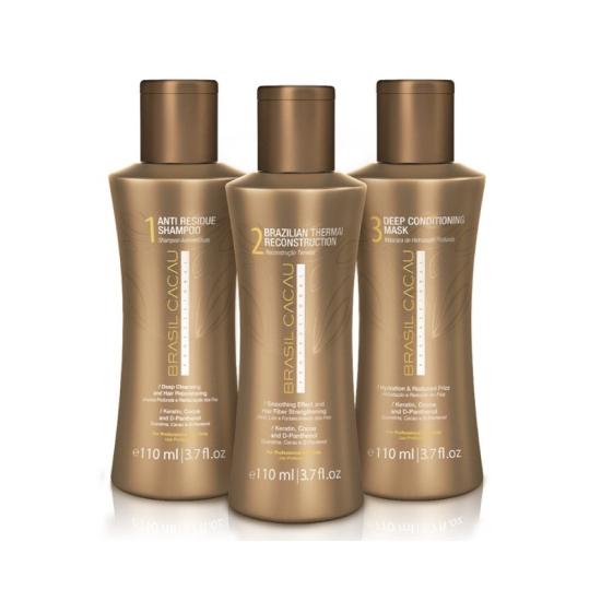 Brasil Cacau Professional: Процедура выпрямления и восстановления волос 110 ml
